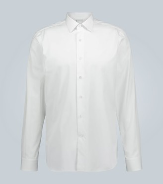 Caruso Cotton slim-fit formal shirt