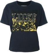 Sacai 'life' embellished T-shirt
