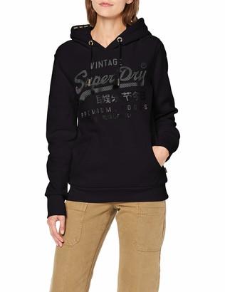 Superdry Women's Vintage Logo Premium Luxe Entry Hood Hoodie