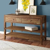 """Athena 48"""" Solid Wood Console Table Laurel Foundry Modern Farmhouse"""