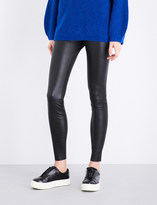 By Malene Birger Elenasoo high-rise stretch-leather leggings