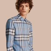 Burberry Check Cotton Oxford Shirt