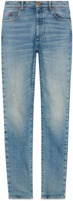 Gucci Stonewashed skinny jeans