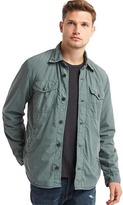 Gap Fleece-lined shirt jacket