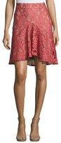 Alexis Braxten Lace Flared Godet Skirt
