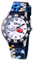 Cars Boys' Disney Stainless Steel Time Teacher with Bezel Watch
