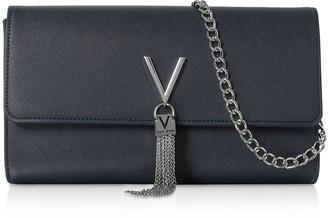 Mario Valentino Valentino By Divina Saffiano Shoulder Bag