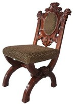 Toscano Sir Raleigh Upholstered Dining Chair Design