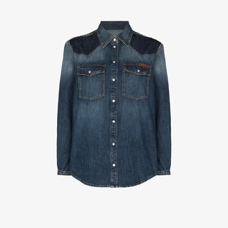 Golden Goose Altea western denim shirt