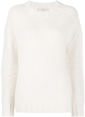 Schumacher Dorothee cashmere long-sleeve jumper