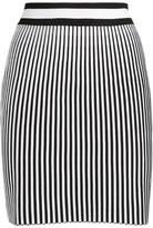 Off-White Off White Stripe Knitted Skirt