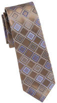 Kenneth Cole Reaction Diamond Print Silk Tie