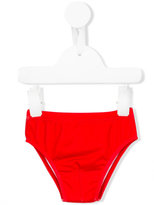 Moschino Kids - plain swim trunks - kids - Polyamide/Polyester/Spandex/Elastane - 3 mth