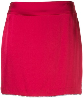Mason by Michelle Mason Embellished Mini Skirt