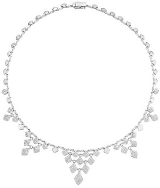Adriana Orsini Zena Plated Sterling Silver & Cubic Zirconia Necklace