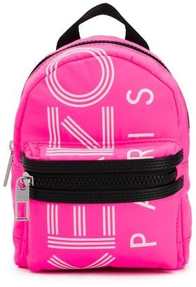 Kenzo Mini Logo Print Backpack