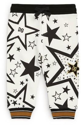 Dolce & Gabbana Kids Millennials Star Sweatpants