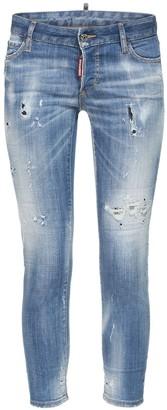 DSQUARED2 Jennifer Distress Denim Skinny Jeans
