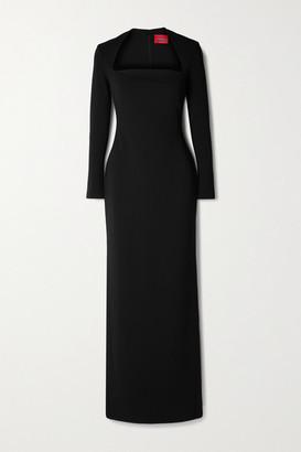 SOLACE London Clio Cady Maxi Dress - Black