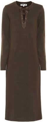 McQ Long-sleeved cotton dress