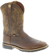 Justin Boots Justin Men's Dark George Strait Waterproof Cowboy Boot Square Toe US