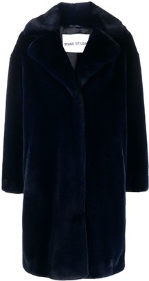 Stand Studio Oversized Teddy Coat