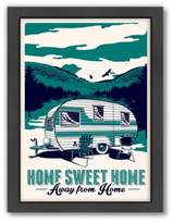 """Bed Bath & Beyond Americanflat """"Home Sweet Home Away From Home"""" Digital Print Wall Art"""