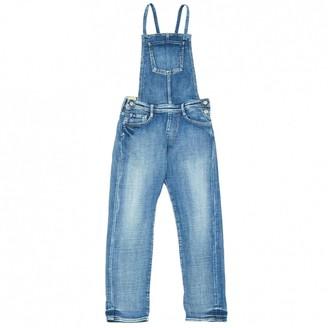 Le Temps Des Cerises Blue Denim - Jeans Jumpsuits