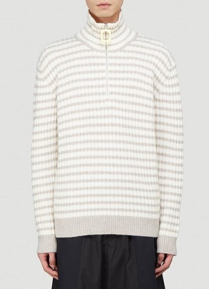 J.W.Anderson Ribbed High Neck Sweater