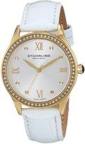 Stuhrling Original Women's 431.04 Vogue Analog Display Swiss Quartz White Watch