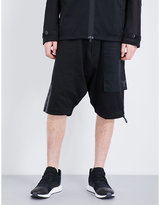 Y3 Cotton-jersey Shorts