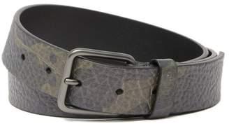 BOSS Gisby Snake Embossed Leather Belt