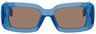 Dries Van Noten Blue Linda Farrow Edition 137 C2 Sunglasses