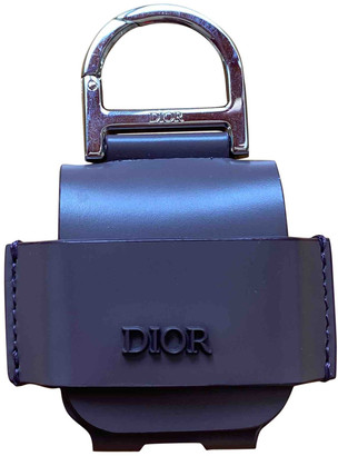 Christian Dior Purple Leather Small bags, wallets & cases