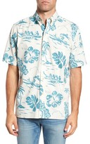 Reyn Spooner Men's Quiet Lagoon Classic Fit Sport Shirt