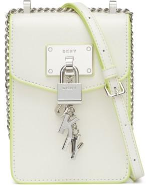 DKNY Elissa Leather Crossbody