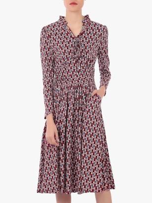 Jolie Moi Sleeved Jersey Dress