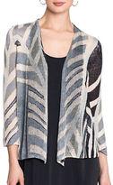 Nic+Zoe Plus Shore Pine Knit Cardigan