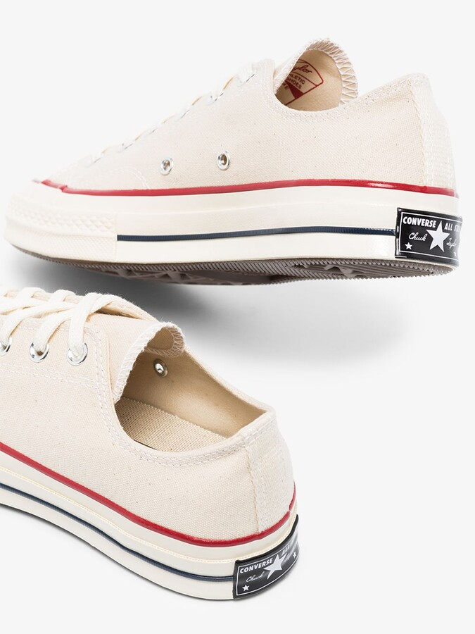 Thumbnail for your product : Converse Neutrals White Chuck 70 Low Top Sneakers