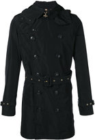 Burberry belted midi trench coat