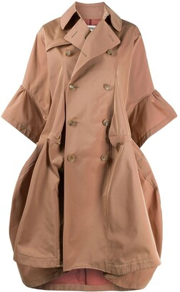 Junya Watanabe Double Breasted Trench Coat