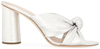 Loeffler Randall Coco knot-detailed mules
