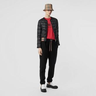 Burberry Icon Stripe Detai Down-fied Puffer Jacket