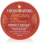 Crème of Nature Argan Oil Perfect Edges Ctrl 2.25oz Jar (2 Pack) by