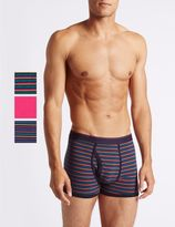 Marks and Spencer 3 Pack Cotton Rich Trunks