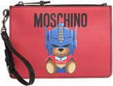 Moschino Small Teddy Transformer Pouch