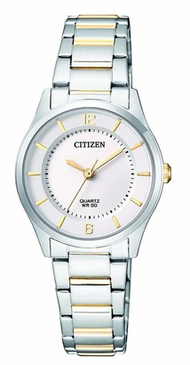 Citizen Womens Analogue Quartz Watch with Stainless Steel Strap ER0201-72A