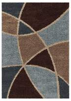 Orian Divulge Chocolate Area Rug