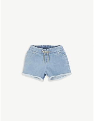 Chloé Denim cotton shorts 4-14 years
