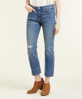 Frye Women's Denim Pants and Jeans LILA - Lila Destroy Joni Kick Boot Crop Pants - Women
